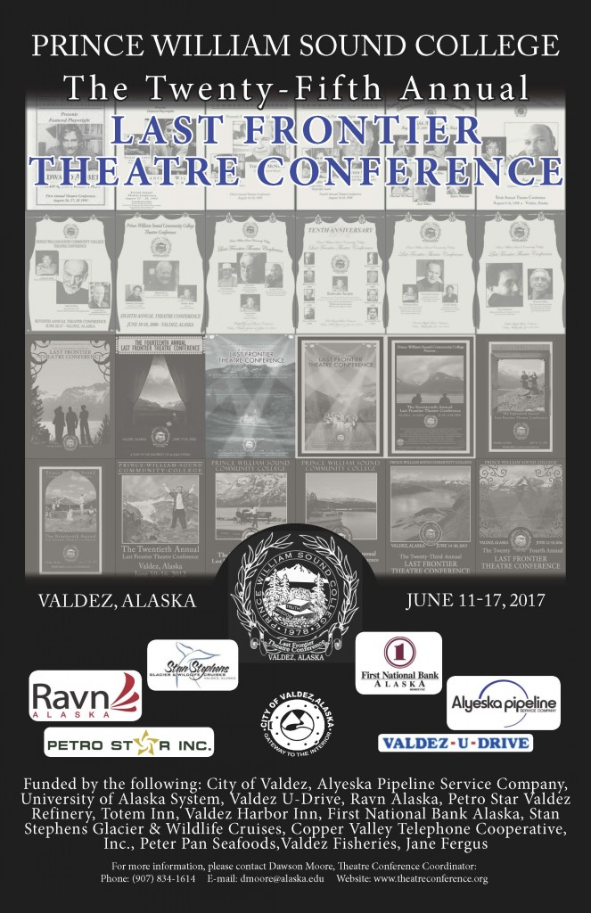 Theatre Conference Poster