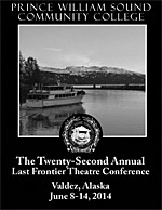 2013 Last Frontier Theatre Conference Program